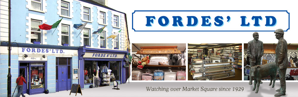 Fordes Ltd., Watching over market square since 1929